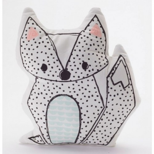 Lolli Living Sparrow Character Cushion Fox