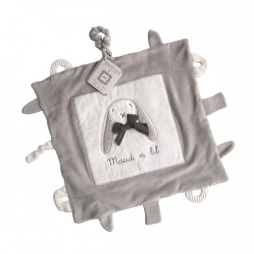 Maud n Lil Play Blankie Grey