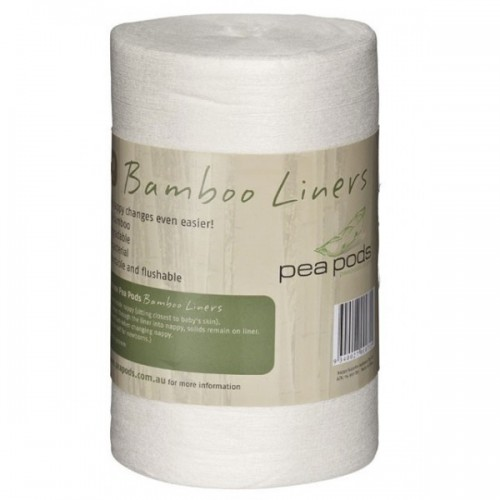 Pea Pods Bamboo Flushable nappy Liners