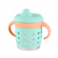 Make My Day Adjustable Sippy Cup Mint