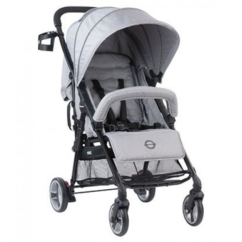 Steelcraft Sprint Stroller Grey Linen