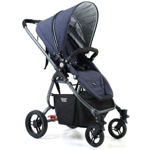 Valco Snap Ultra Tailormade Pram Denim